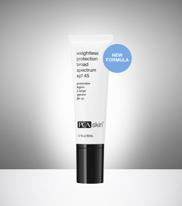 Weightless PCA SPF cream